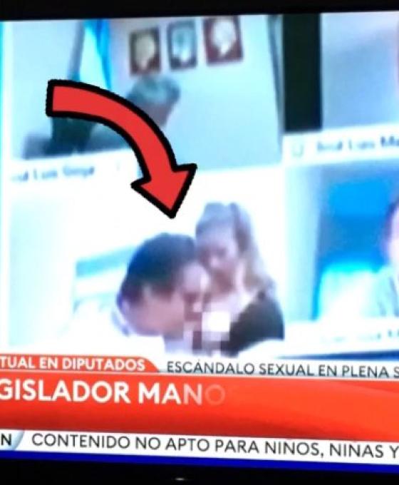 Las redes estallaron con la escena caliente del diputado Juan Ameri