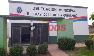 Robo delegacion municipal
