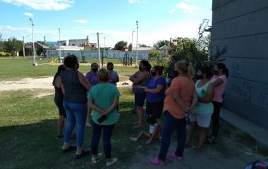 Vecinos de las 550 Viviendas del Pirayuí se manifestaron por más seguridad en la zona