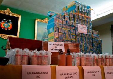 """Para el Gobierno, hubo """"contrabando agravado"""" en el envío de armas a Bolivia durante el macrismo"""