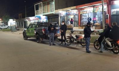 La Policía realizó operativos de control para dar el cumplimiento de las restricciones a la circulación