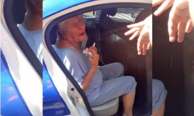 Una mujer de 80 años le robó la mochila a una clienta en un local de ropa
