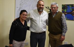 Polich se puso a disposición de las comunas para asistirlas en la elaboración de proyectos