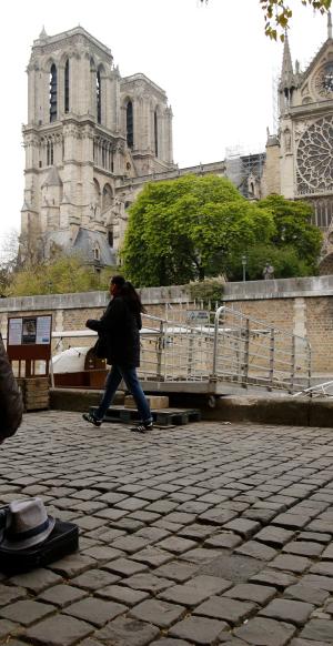 Notre Dame: El día después en impactantes fotos