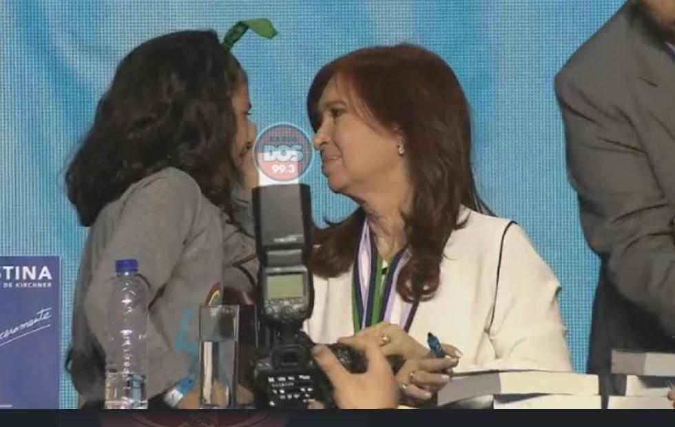 """Cristina: """"Una nena chaqueña llorando me dijo: yo quiero ser como vos presidenta"""""""