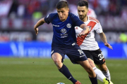Superliga: River sufrió una derrota ante Talleres en el Monumental