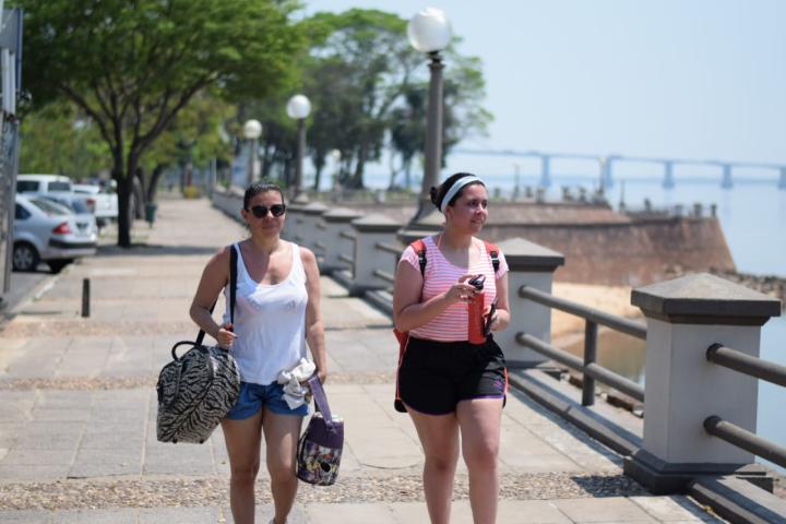Calor en Corrientes tereré