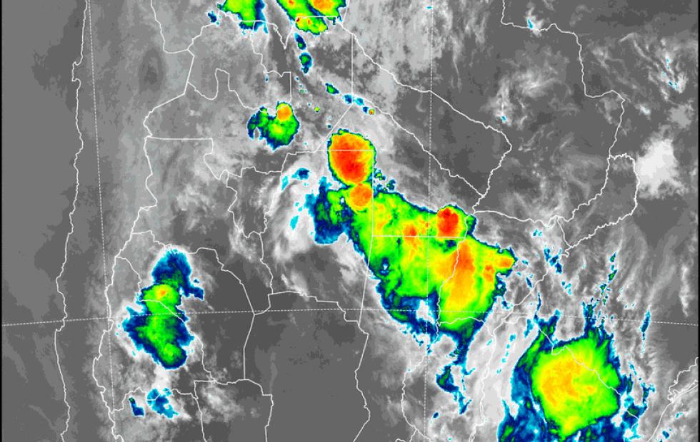 Pronóstico: Rige alerta por tormentas fuertes para Corrientes