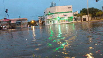 Corrientes: Intensas lluvias complican el inicio del jueves