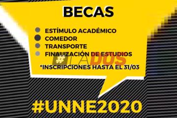 Requisitos y formularios: Cómo acceder a las Becas UNNE 2020