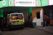 Corrientes: Una penitenciaria terminó en el hospital al chocar con su moto