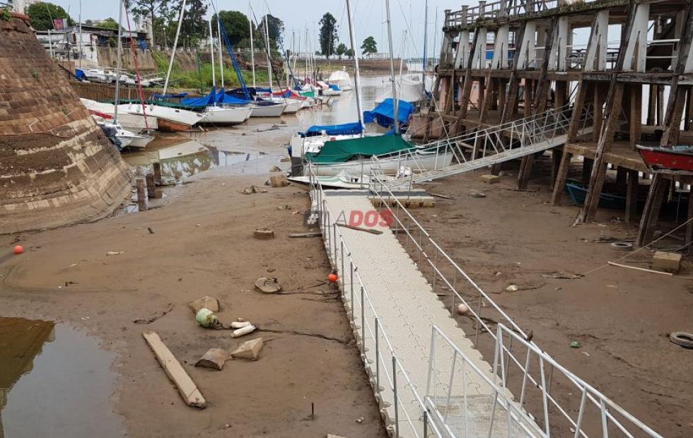 La bajante histórica del río Paraná le resta al menos u$s 244 millones a la economía
