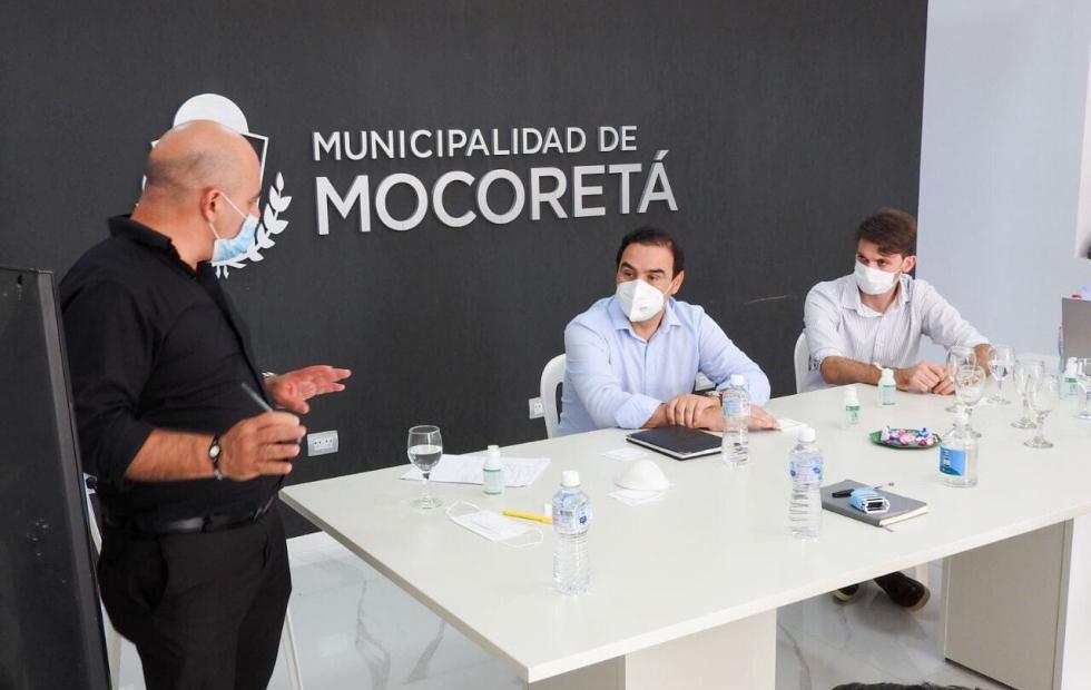 """Gustavo Valdés sobre la situación en Mocoretá: """"Estamos en alerta máxima"""""""