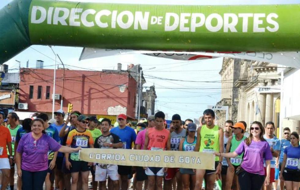 Con la participación de corredores de distintas provincias se desarrolló la carrera ciudad de Goya