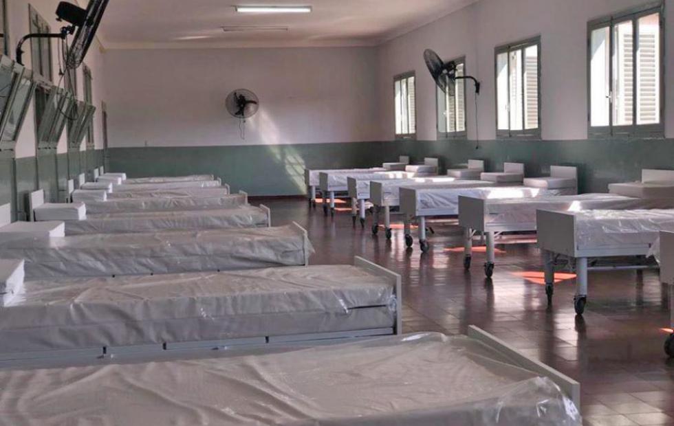 Un correntino murió por coronavirus en el Hospital de Campaña