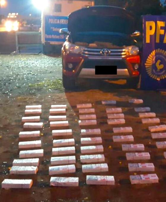 """La Policía Federal incautó 500 atados de cigarrillos """"Rodeo"""""""