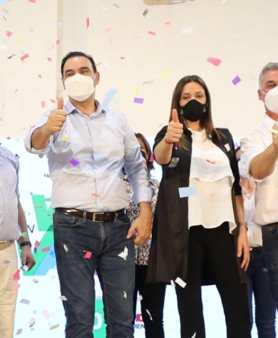 Gustavo Valdés presentó los candidatos de ECo + Vamos Corrientes en Bella Vista