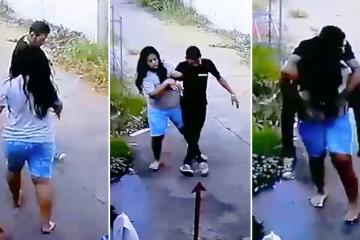 Wife PIGGY BACKS Her Drunk Husband