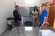 Cardozo recorrió obras en el interior y planificó otras inversiones sanitarias