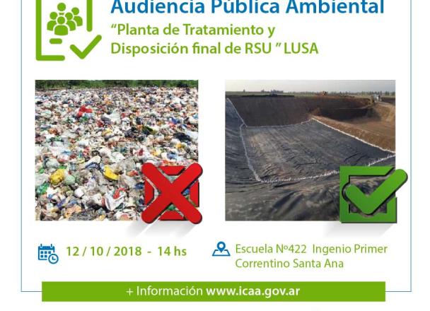 Residuos Sólidos Urbanos: Profesionales destacaron metodología para evitar contaminación del predio