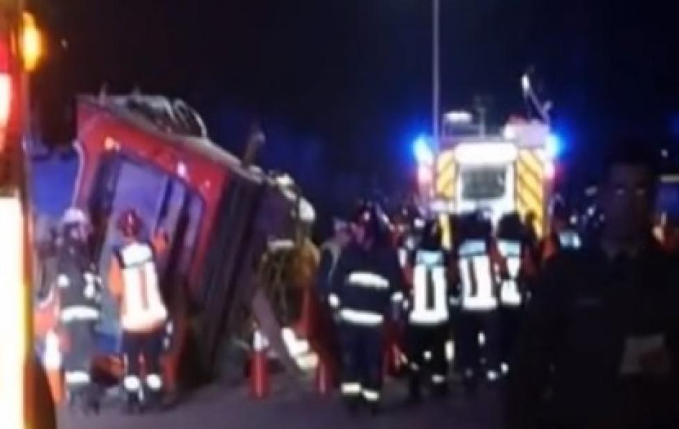 Volcó un micro en Chile: Al menos cuatro muertos y 14 heridos