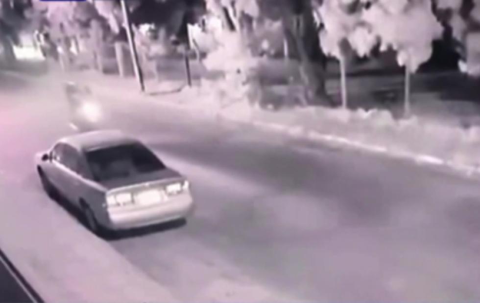Video: Atropelló a dos motochorros en Paraguay para evitar un robo