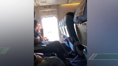 大媽想透氣打開飛機安全門?廈航:提醒後仍觸碰開關