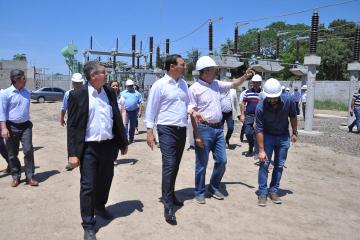 Valdés Recorrida de Obras Estación Transformadora Paso de la Patria 11-10-19 MSF_4.jpg