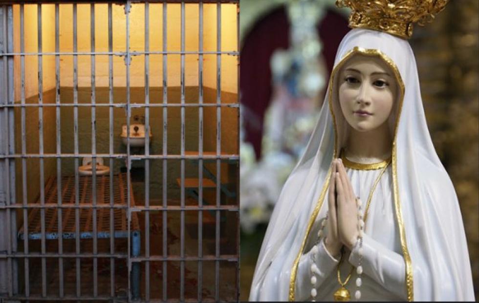 Video viral: La reacción de presos ante la visita de la Virgen en una cárcel
