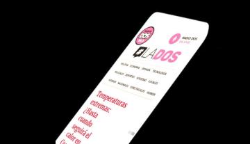NUEVAS FORMAS DE COMUNICAR. En octubre La Dos cambió su logo para concientizar sobre el cáncer de mama.