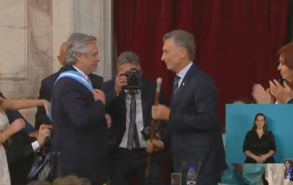 Video: Alberto Fernández juró como presidente de la Nación