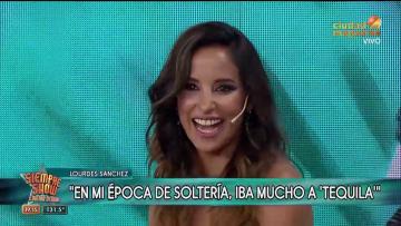 Lourdes Sánchez hablaba de sus salidas con amigas cuando apareció el Chato Prada