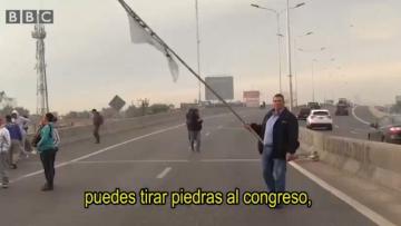 """El falso video de la BBC que muestra """"lo ridículo que es todo en Argentina"""""""