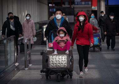 Coronavirus: así va quedando China aislada del resto del mundo por tierra, aire y mar