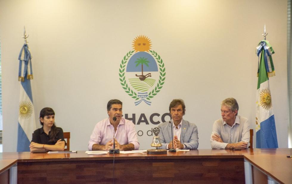 Capitanich pedirá a Nación que el segundo puente Corrientes-Chaco se incluya en el presupuesto nacional