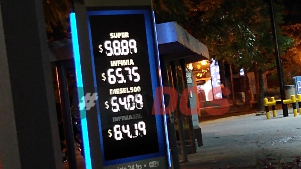 Combustible Corrientes