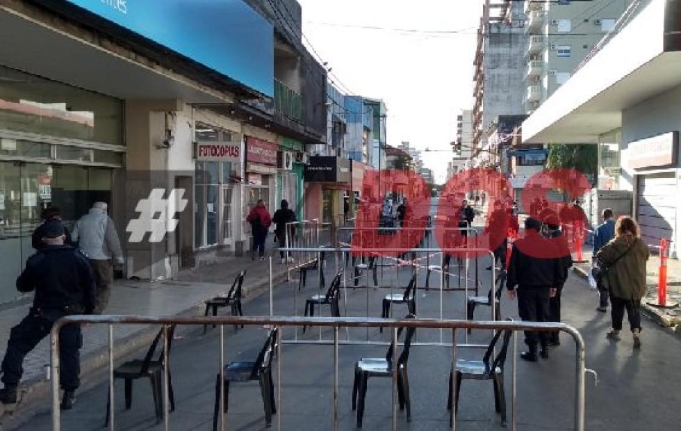 En los bancos de Corrientes se pagó con normalidad y sin concentración de personas