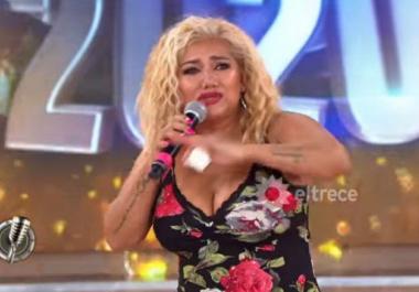 Una famosa le quiso prestar un vestido a Gladys la Bomba Tucumana ¡y la cantante se negó!