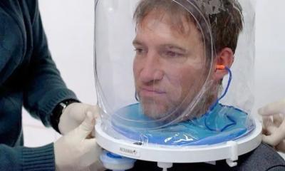 Pacientes con COVID-19: cuáles son las siete provincias que utilizan cascos con oxígeno