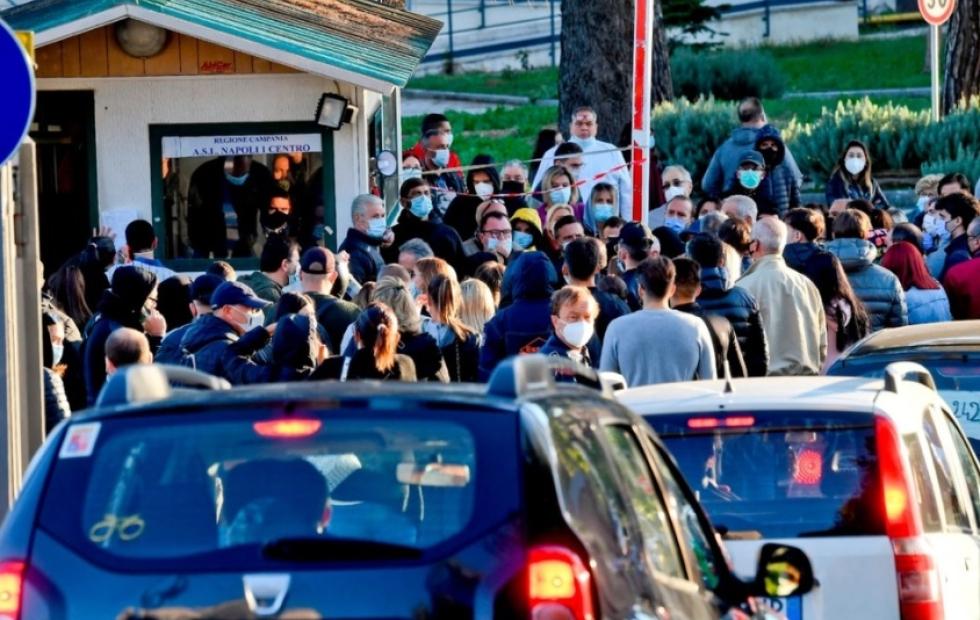 Italia sufre una segunda ola de coronavirus