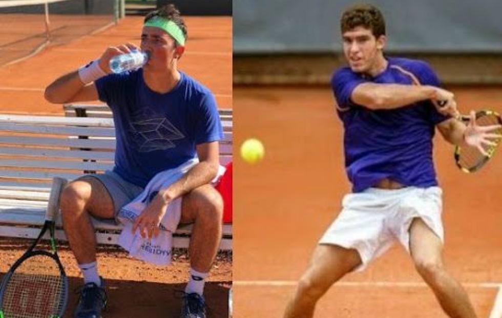 Tenis: Velotti regresa al continente, Monzón no