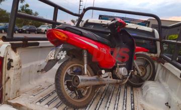 robo de motocicleta cascotito