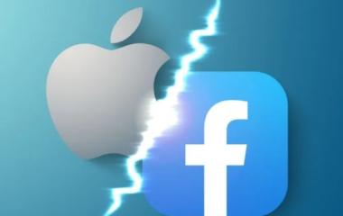"""Facebook vs. Apple: Mark Zuckerberg llamó a """"causar dolor"""" a la manzanita"""