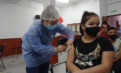 Se vacunaron 100 mil chicos por día desde que comenzó la campaña para menores de 3 a 11 años