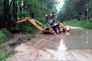 Bella Vista: Acciones conjuntas de ayuda a damnificados por las lluvias