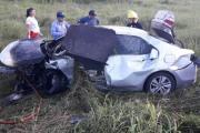 Correntina murió en violento  vuelco registrado en Chaco