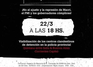 Comienzan las actividades por el Día de la Memoria en Corrientes