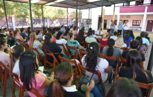 Exitosa respuesta de los vecinos a los cursos impulsados por la Vicegobernación