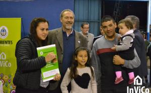 Entregaron 150 viviendas en Monte Caseros y Paso de los Libres