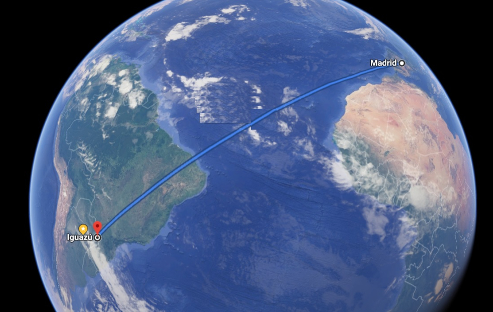 Histórico: Ya vuela sobre el Atlántico el avión que une Europa con el Nordeste argentino